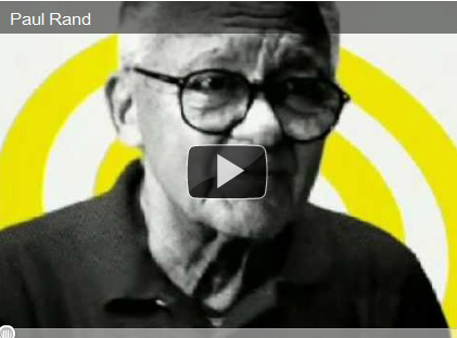 Paul Rand my inspiration